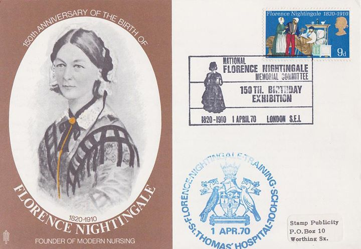 General Anniversaries 1970, Florence Nightingale