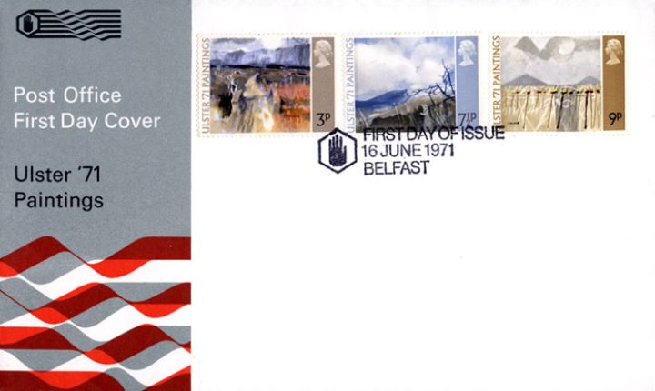 Ulster '71 Paintings, Post Office cover