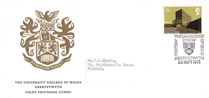 Universities, University College of Wales