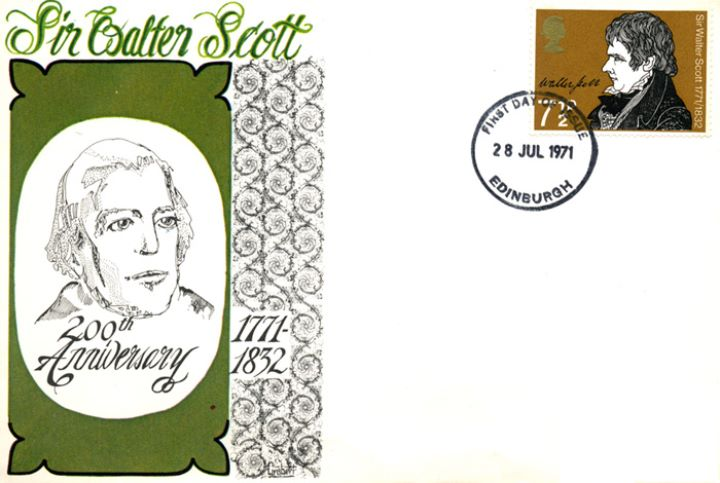 Literary Anniversaries 1971, Sir Walter Scott