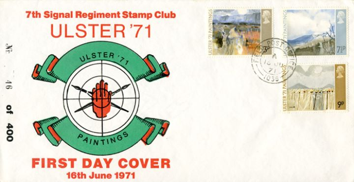 Ulster '71 Paintings, 7th Signal Regiment Stamp Club