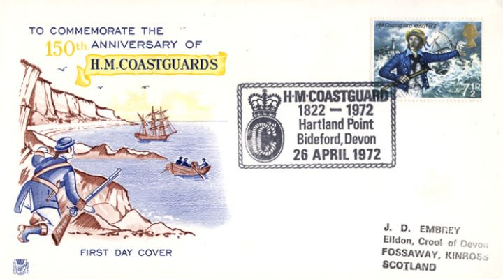 General Anniversaries 1972, H M Coastguard
