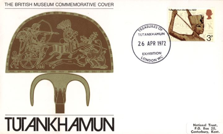 General Anniversaries 1972, Tutankhamun