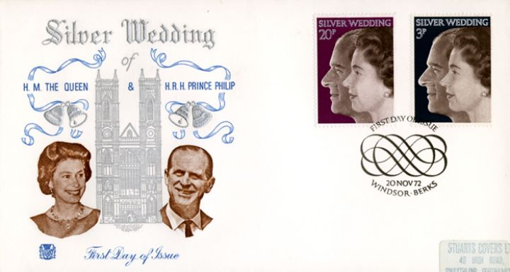 Silver Wedding 1972, Westminster Abbey