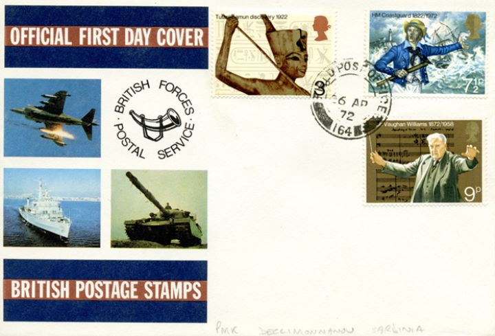 General Anniversaries 1972, British Forces Postal Service