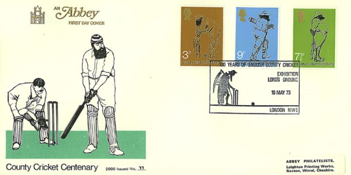County Cricket Centenary, W G Grace