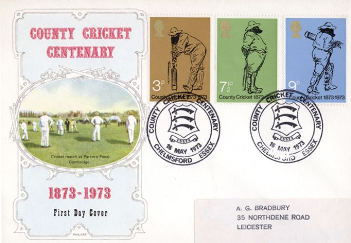 County Cricket Centenary, Parker's Piece Cambridge