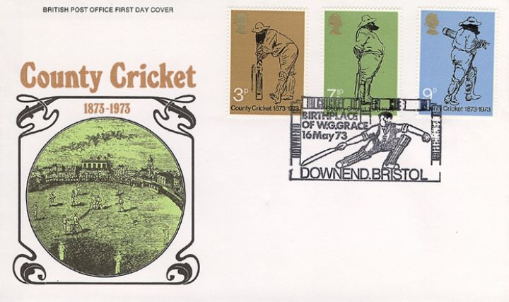 County Cricket Centenary, County Cricket 1873-1973