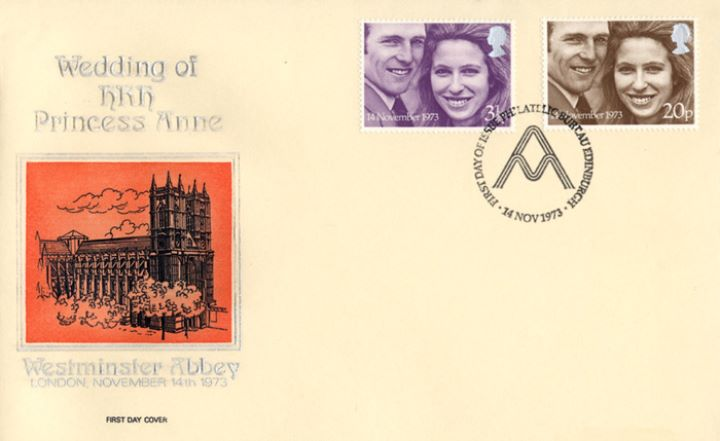 Royal Wedding 1973, Westminster Abbey
