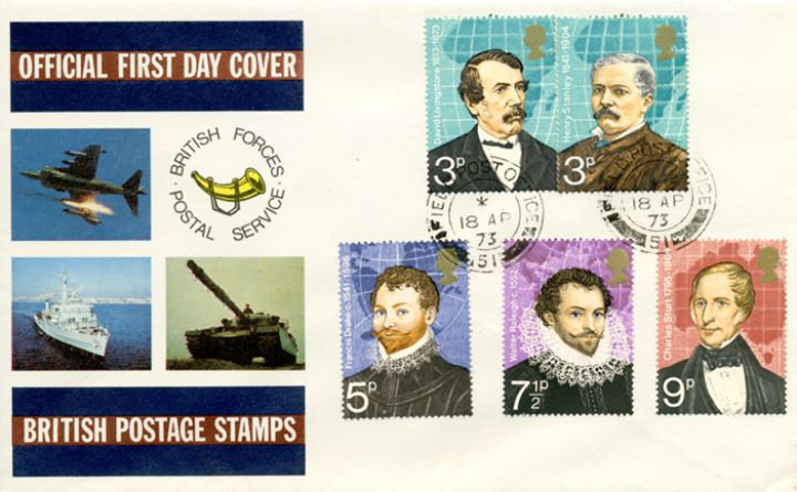 British Explorers, British Forces Postal Service