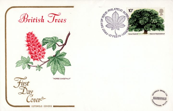 British Trees - The Horse Chestnut, British Trees