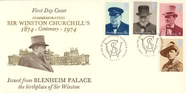 Winston Churchill, Blenheim Palace