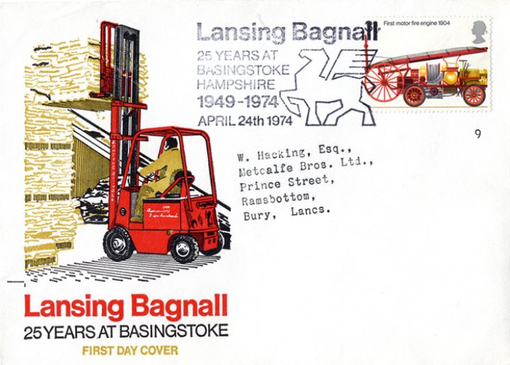 Fire Engines, Lansing Bagnall