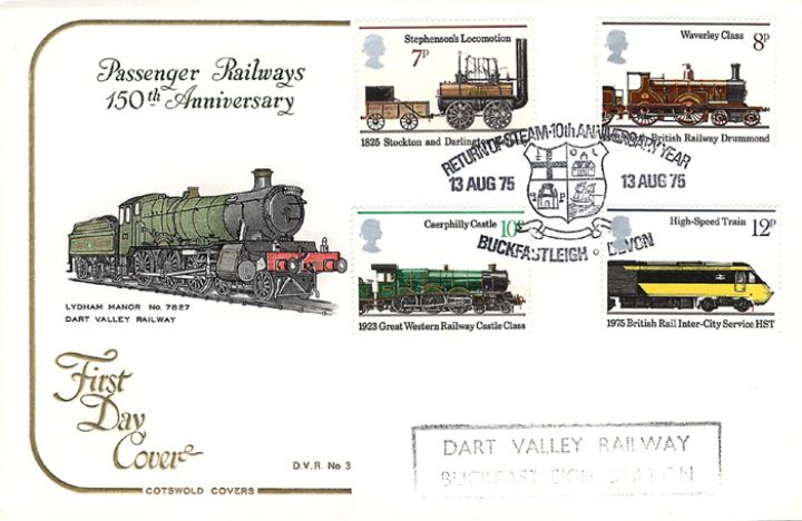 Stockton & Darlington Railway, Dart Valley Railway