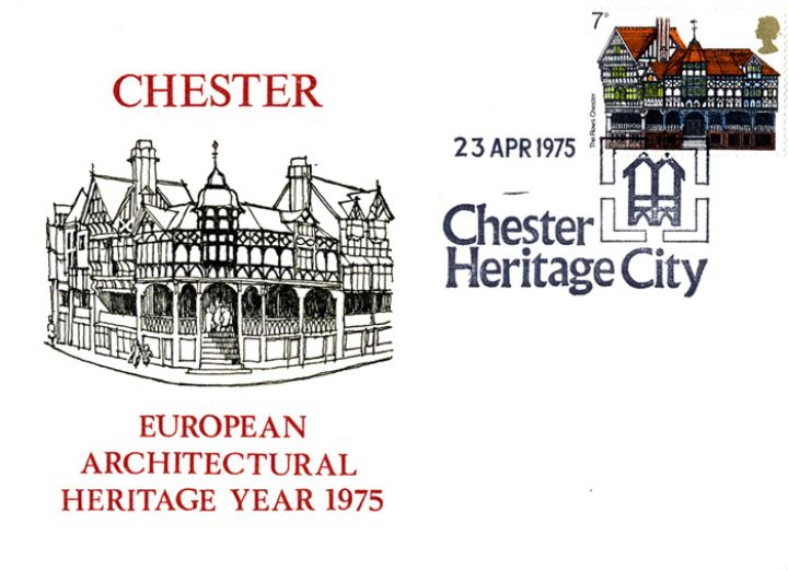 European Architectural Heritage Year, Chester Heritage City