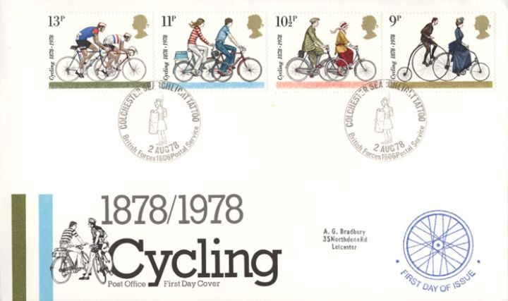Cycling Centenaries, Post Office Covers
