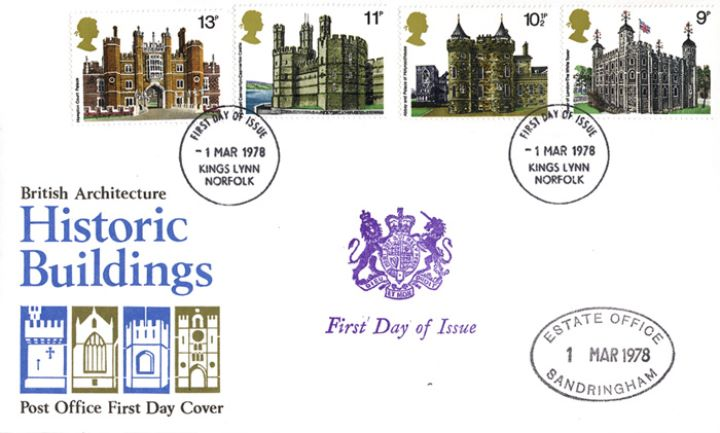Historic Buildings: Stamps, Sandringham Estate