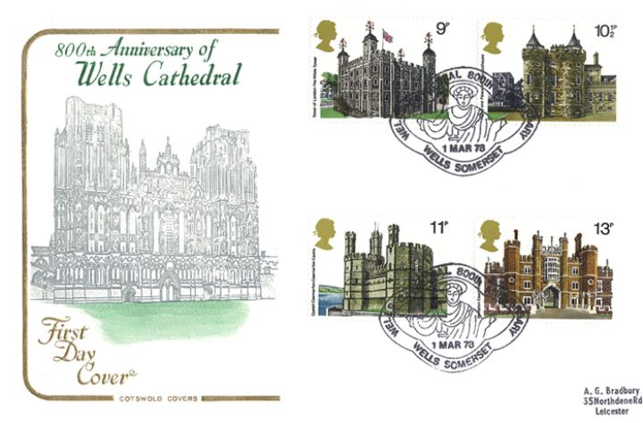Historic Buildings: Stamps, Wells Cathedral