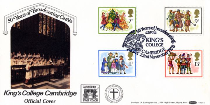 Christmas 1978, King's College Cambridge