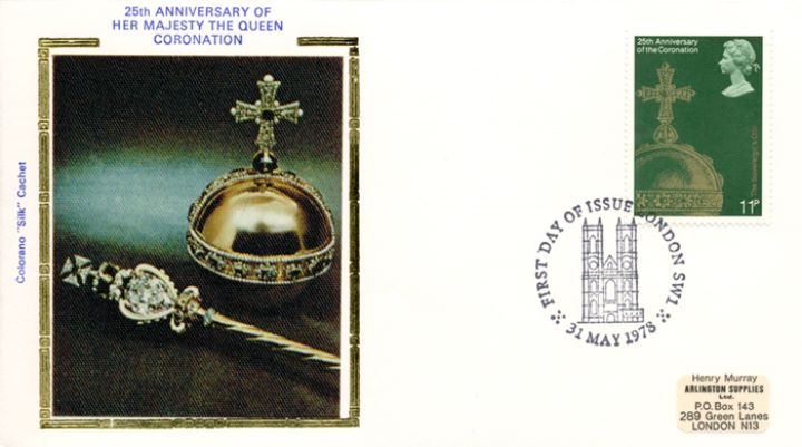 Coronation 25th Anniversary, The Sovereign's Orb