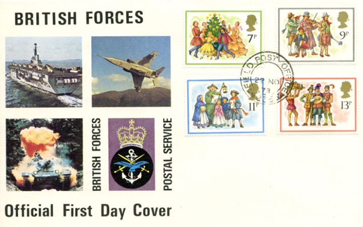 Christmas 1978, British Forces Postal Service