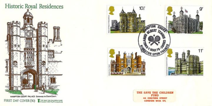Historic Buildings: Stamps, Hampton Court Palace