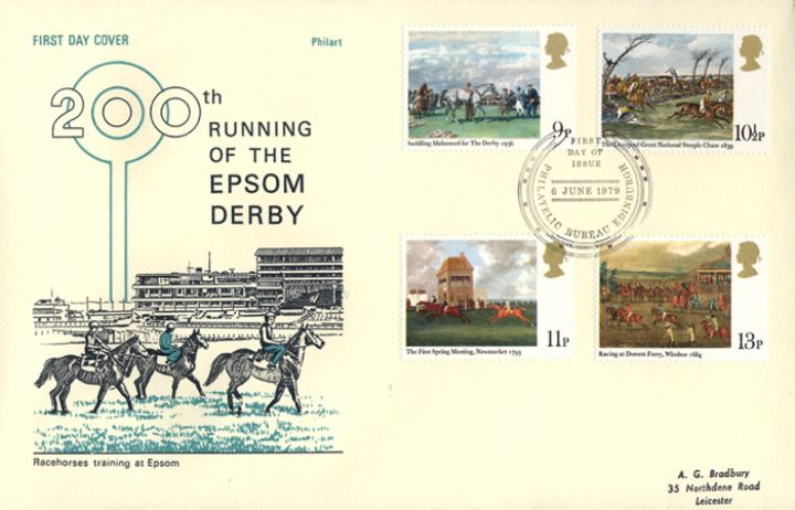 Horse Racing, Epsom Derby