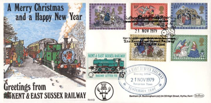 Christmas 1979, Kent & East Sussex Rly