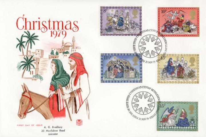 Christmas Stamps.Mary Joseph