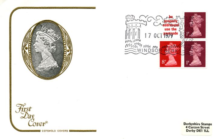 Vending: New Design: 10p 'London 1980', H M The Queen