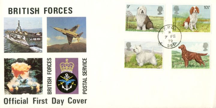 British Dogs, British Forces Postal Service