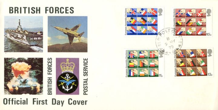 European Elections, British Forces Postal Service
