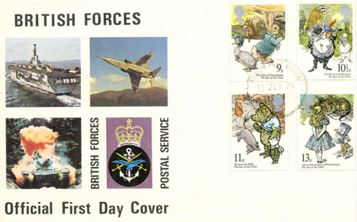 Year of the Child, British Forces Postal Service