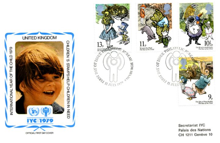 Year of the Child, United Nations Cover