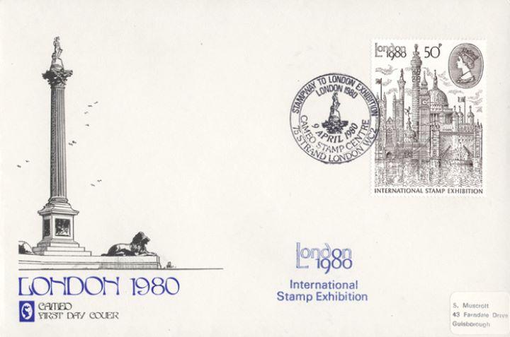 London 1980: 50p Stamp, Nelson's Column