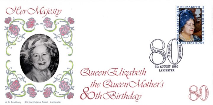Queen Mother 80th Birthday, Leicester Celebrates