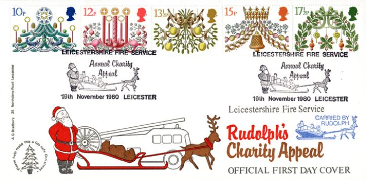 Christmas 1980, Rudolph's Charity Appeal