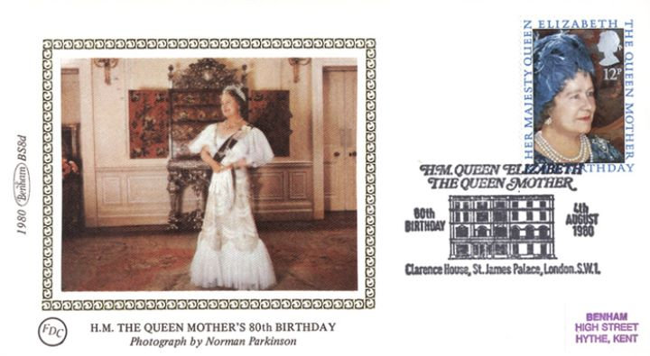 Queen Mother 80th Birthday, Official Portrait