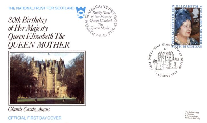 Queen Mother 80th Birthday, Glamis Castle