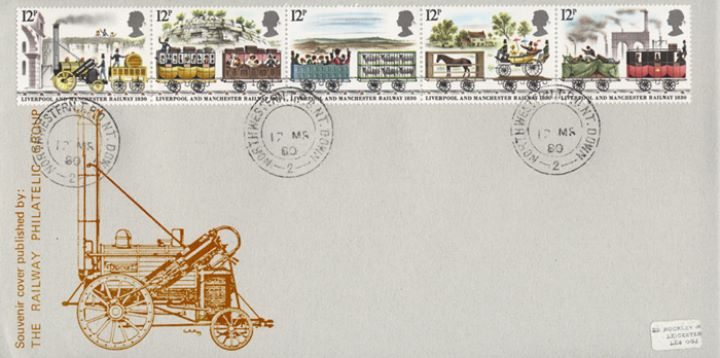 Liverpool & Manchester Rly, Railway Philatelic Group