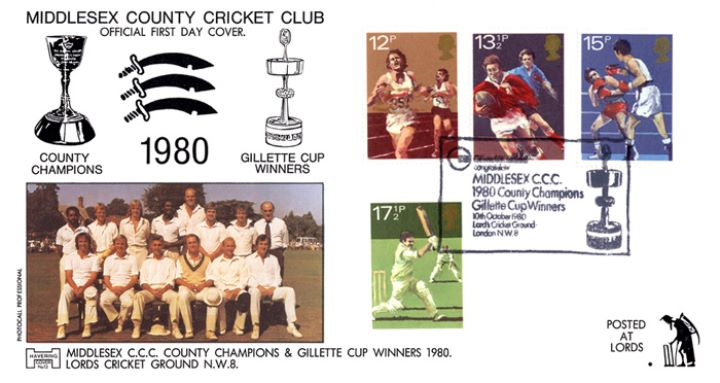 Sports Centenaries, Middlesex Cricket Club