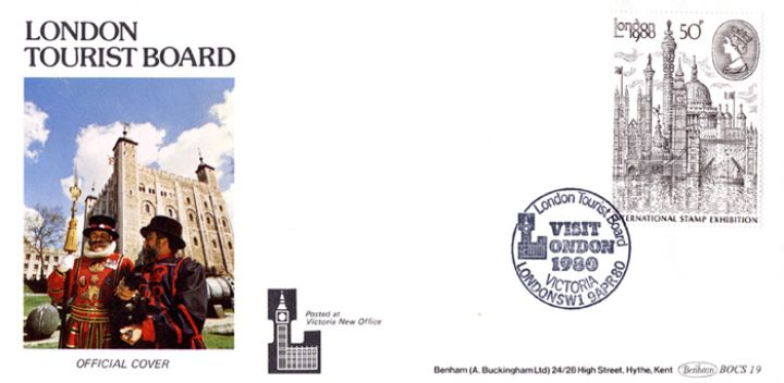 London 1980: 50p Stamp, London Tourist Board