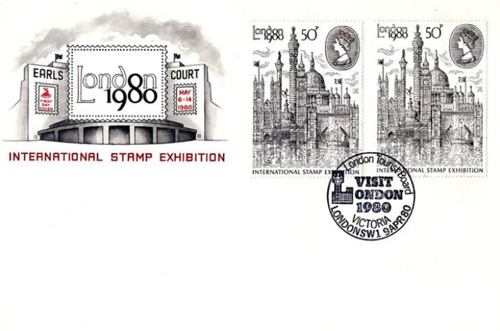 London 1980: 50p Stamp, Earls Court
