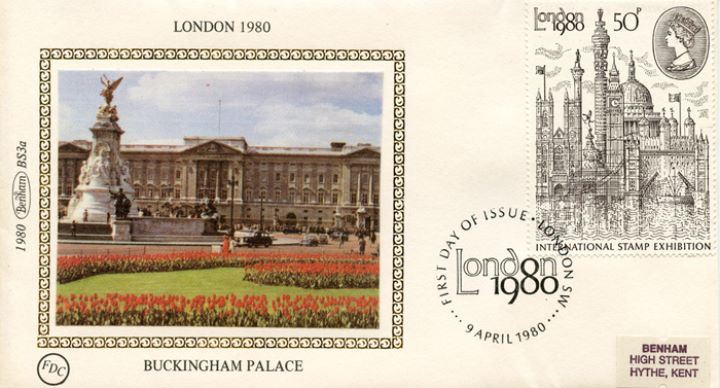 London 1980: 50p Stamp, Buckingham Palace