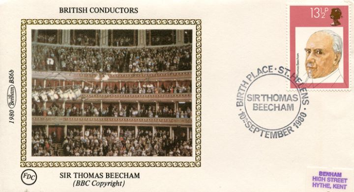 British Conductors, Sir Thomas Beecham