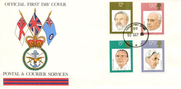 British Conductors, Flags of the three Services