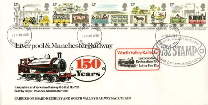 Liverpool & Manchester Rly, Worth Valley Railway
