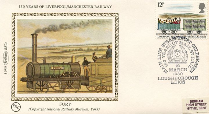 Liverpool & Manchester Rly, 'Fury'