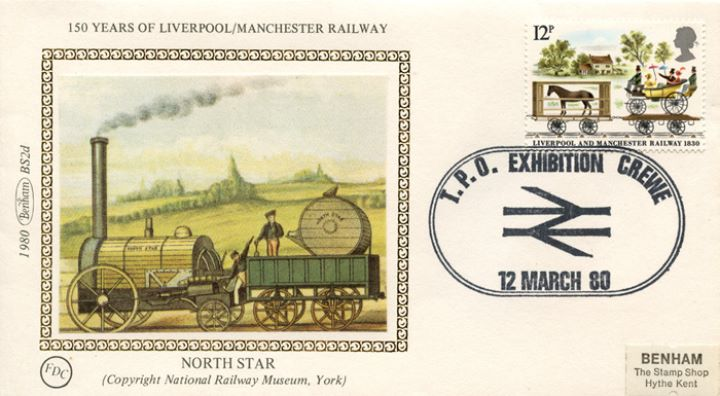 Liverpool & Manchester Rly, 'North Star'