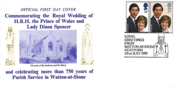 Royal Wedding 1981, Watton-at-Stone